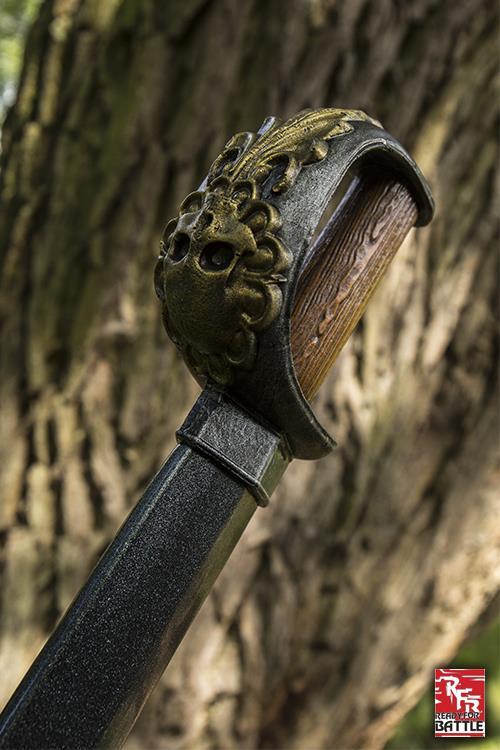 Totenkopf Entermesser für LARP 75 cm 3