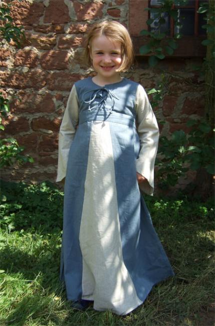 """Kinderkleid """"Sophia"""" 122/128 3"""