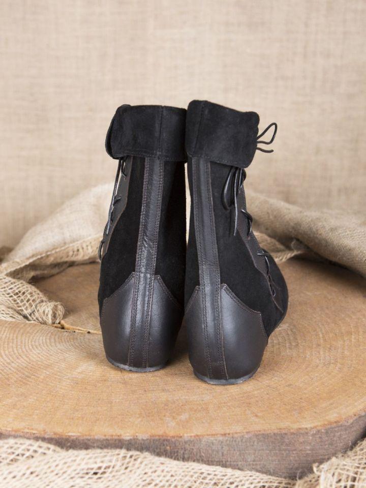 Mittelalter Stiefel Vasco schwarz 41 3