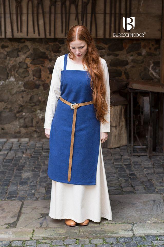 Wikingerkleid Frida - blau 3