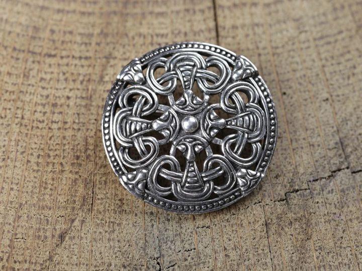 Scheibenfibel - Silber oder Bronze bronze 3
