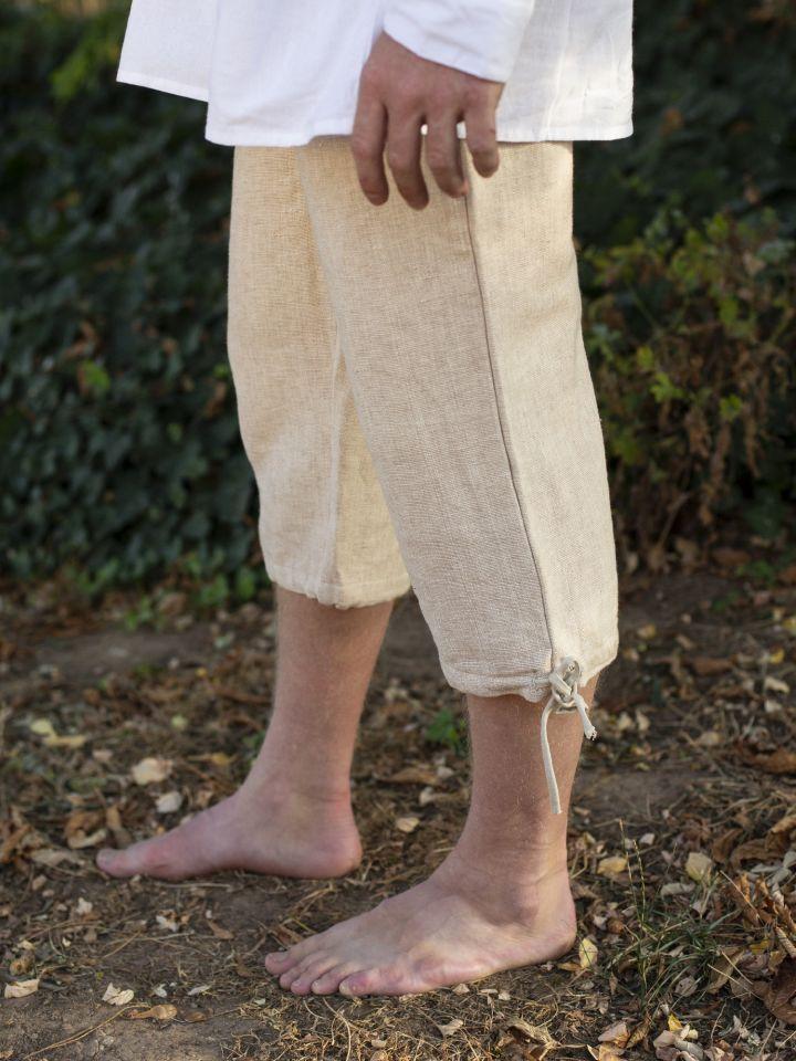 Einfache Kniebundhose hanf 3