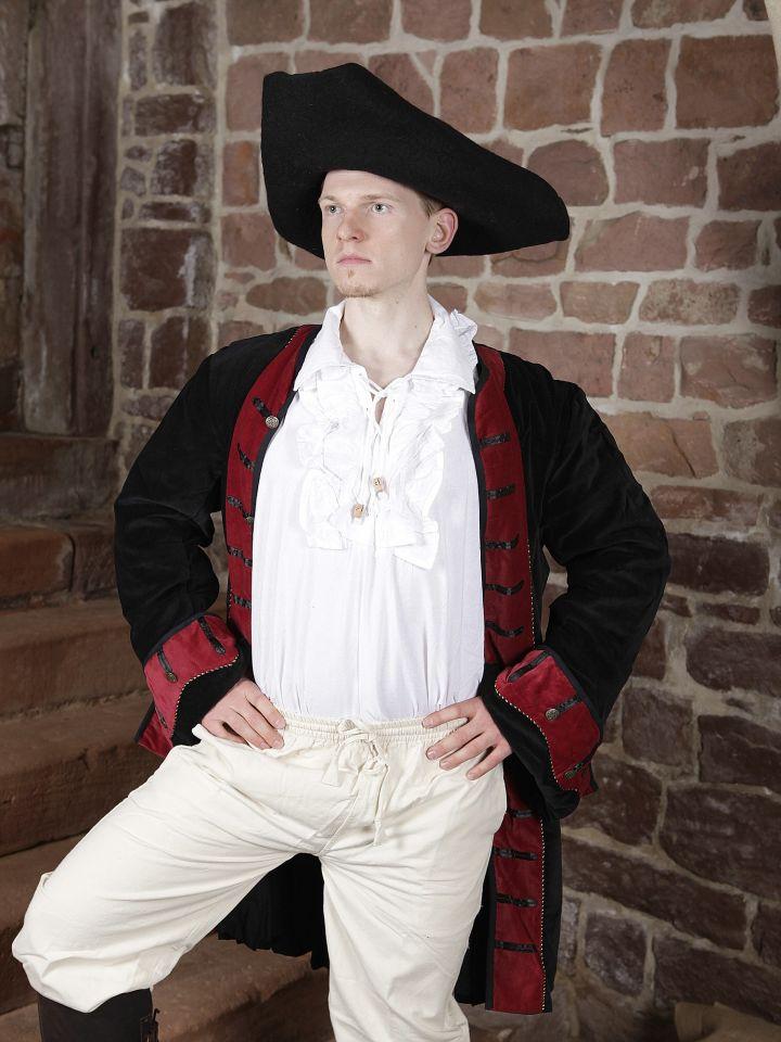 Gehrock mit Hut, Hose und Rüschenhemd 3