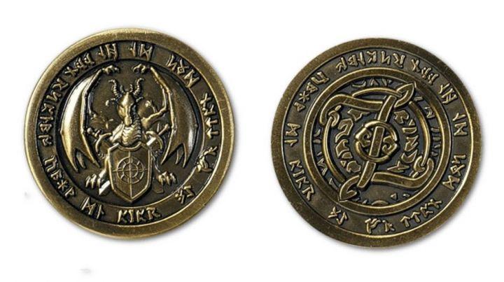 LARP-Münzen Feuer 3