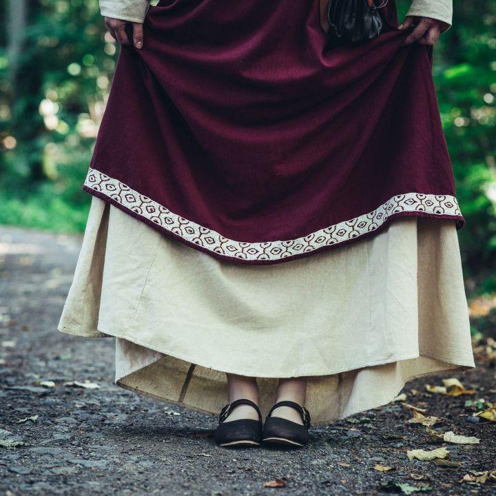 Wikinger-Überkleid Hetja rot 3