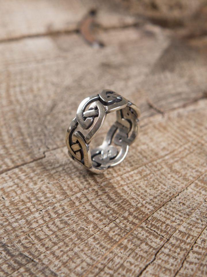 """Ring """"Keltischer Knoten"""" 58 3"""