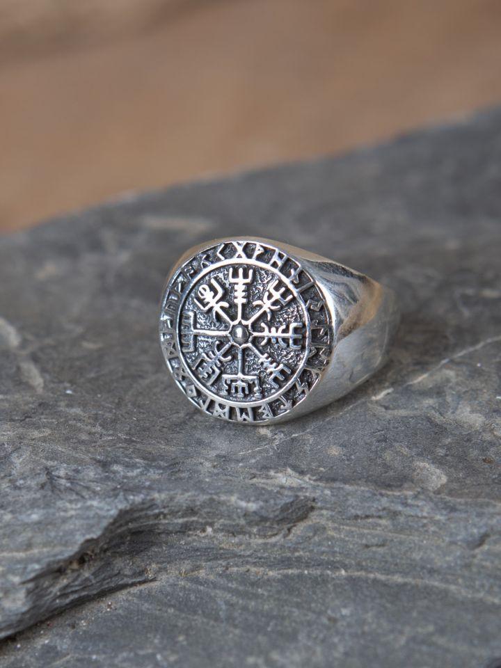 Ring mit Wikinger-Kompass 60 3