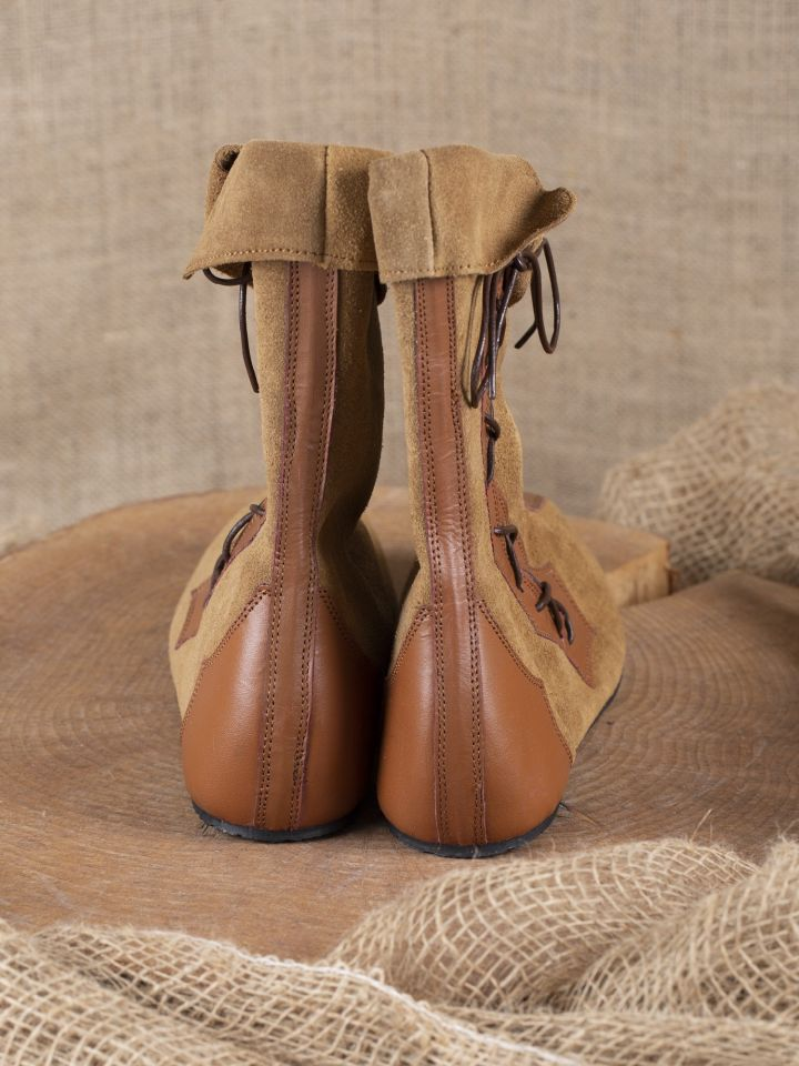 Mittelalter Stiefel Vasco braun 3