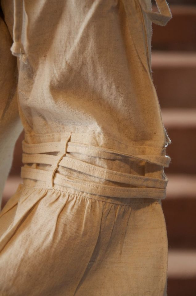 Bluse mit verstellbaren Trägern, natur XL 3
