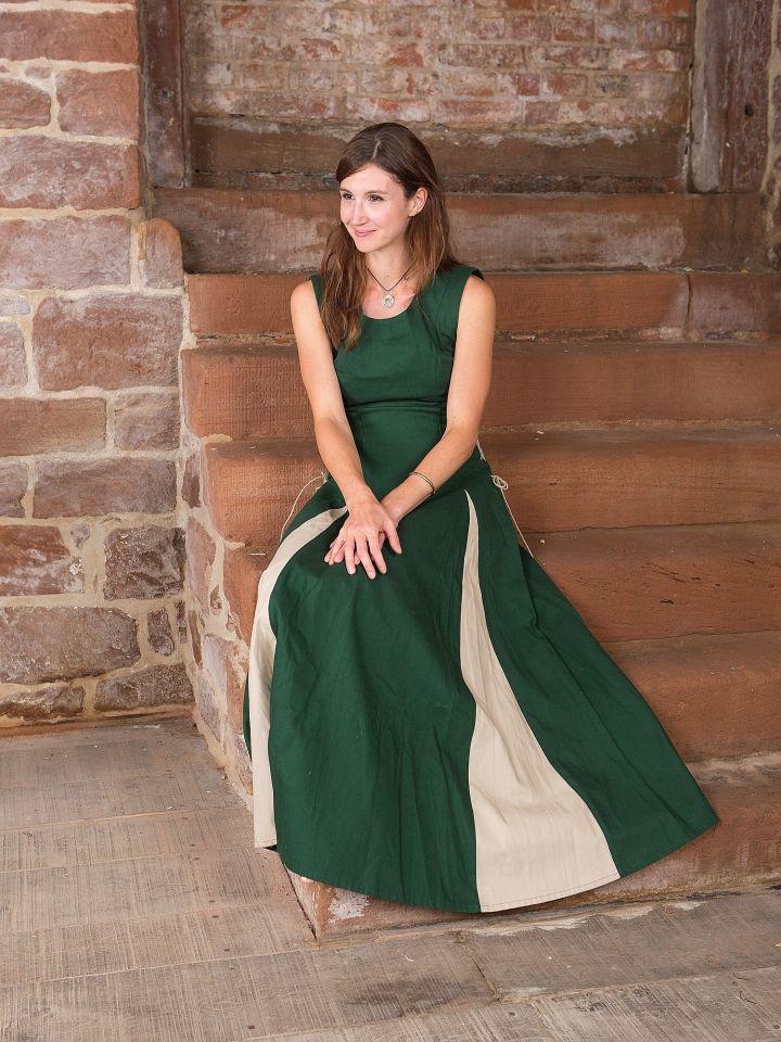 Ärmelloses Kleid grün 3