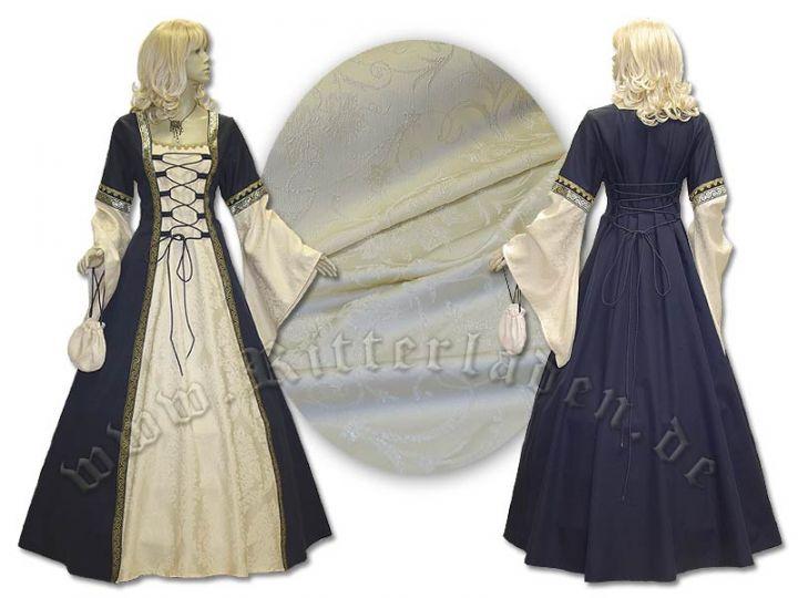 """Kleid """"Iris"""" aus Brokat und Baumwolle 3"""