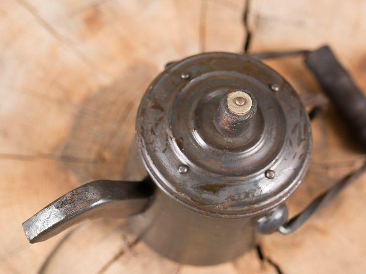 Kanne aus Stahl 3