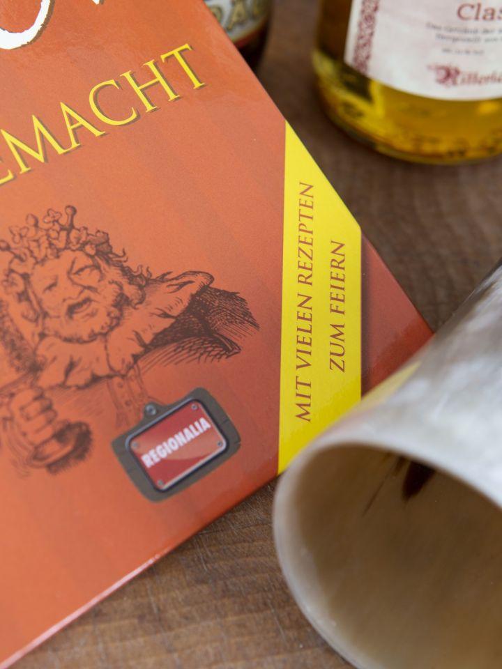 """Geschenkset """"Met und Bier"""" mit Trinkhorn 3"""