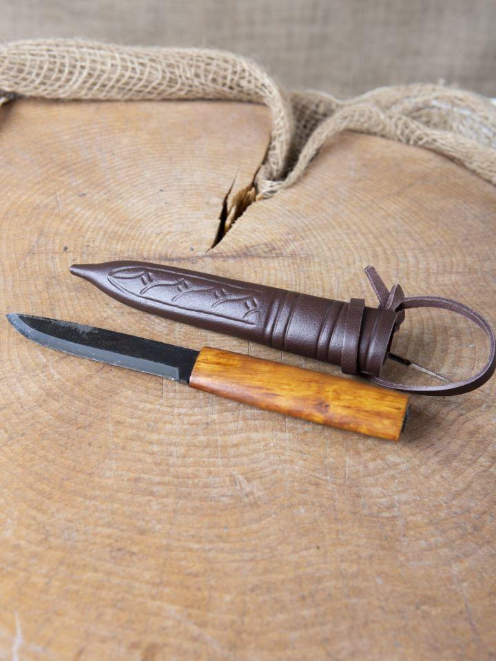 Messer mit Birkenholzgriff 3
