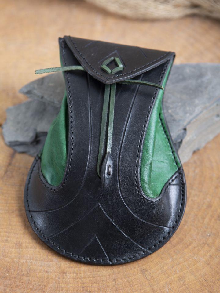 Gürteltasche Elfen schwarz-grün 3