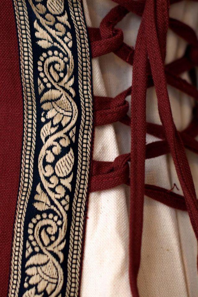 Kleid Klarissa rot-natur XXL 3