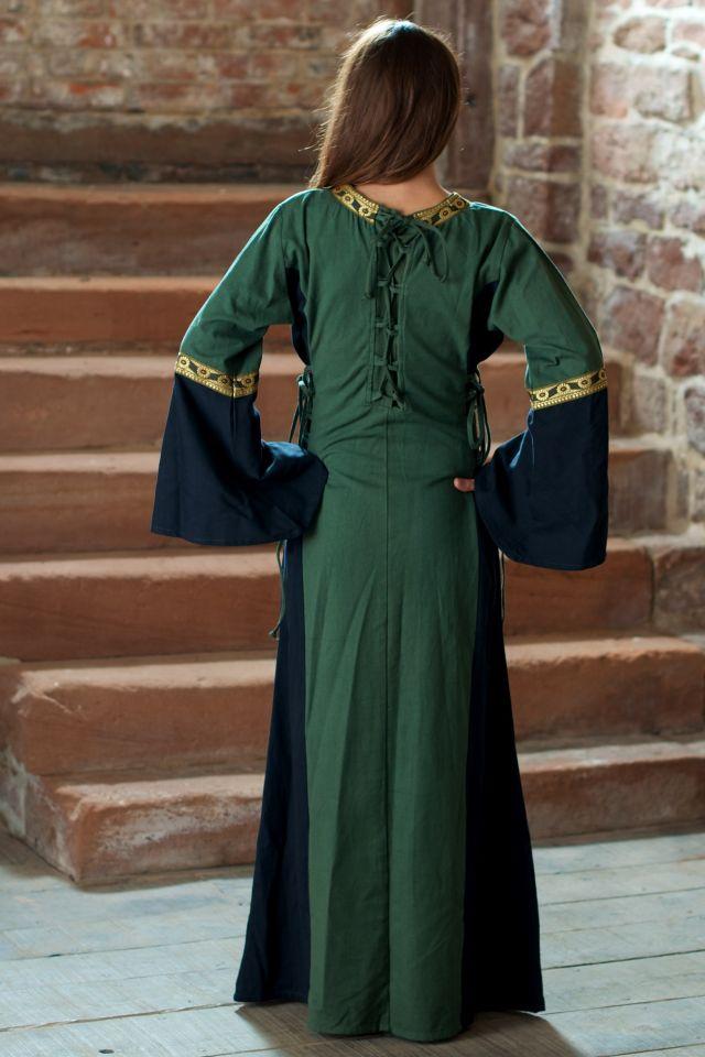 Kleid Klarissa grün-schwarz 3