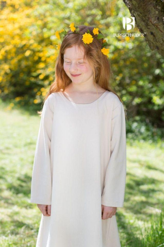 Kinderunterkleid Ylvi natur 128 3