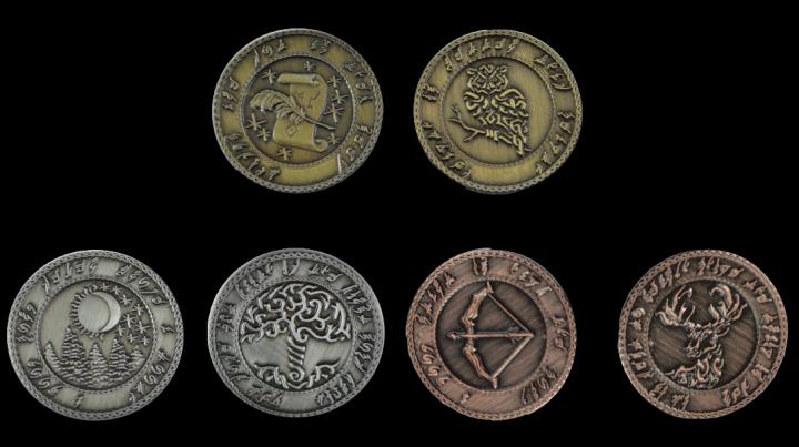 LARP-Münzen Elfen 3