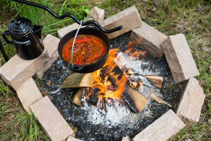 Feueranker für die Kochstelle 3