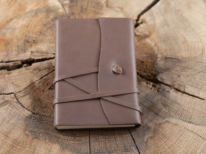 Tagebuch im Einband -braun- Klein 9x13 3