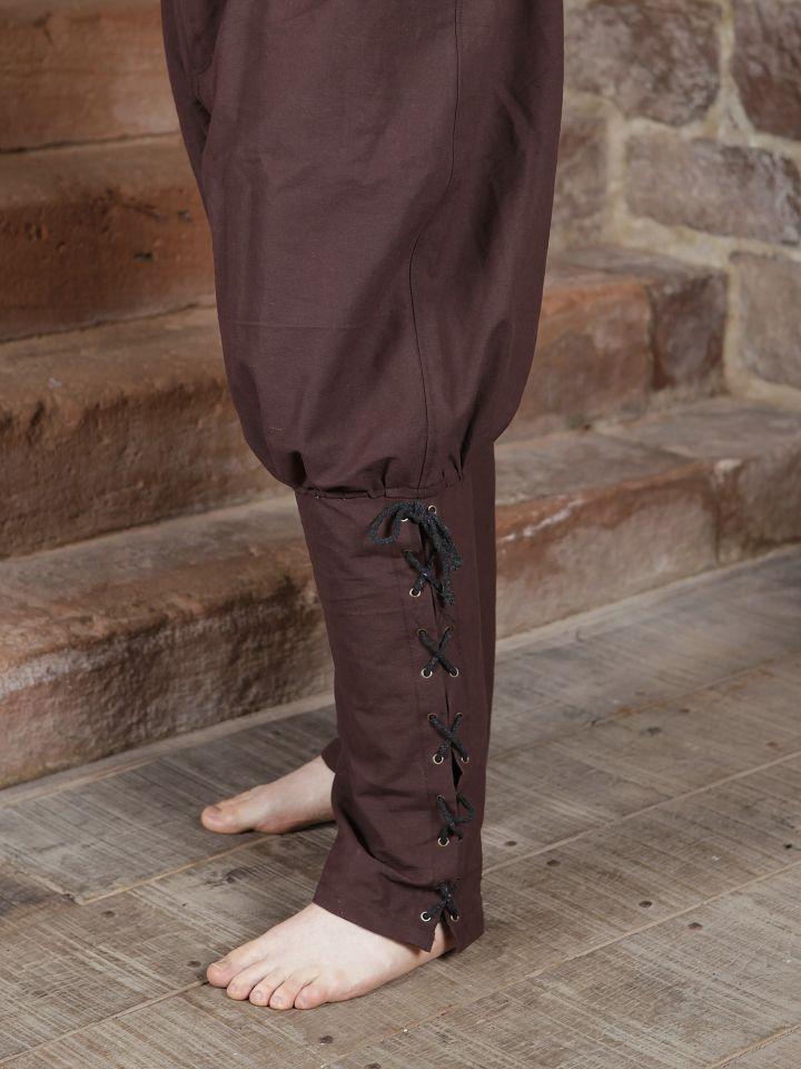 Wikingerhose in dunkelbraun 3