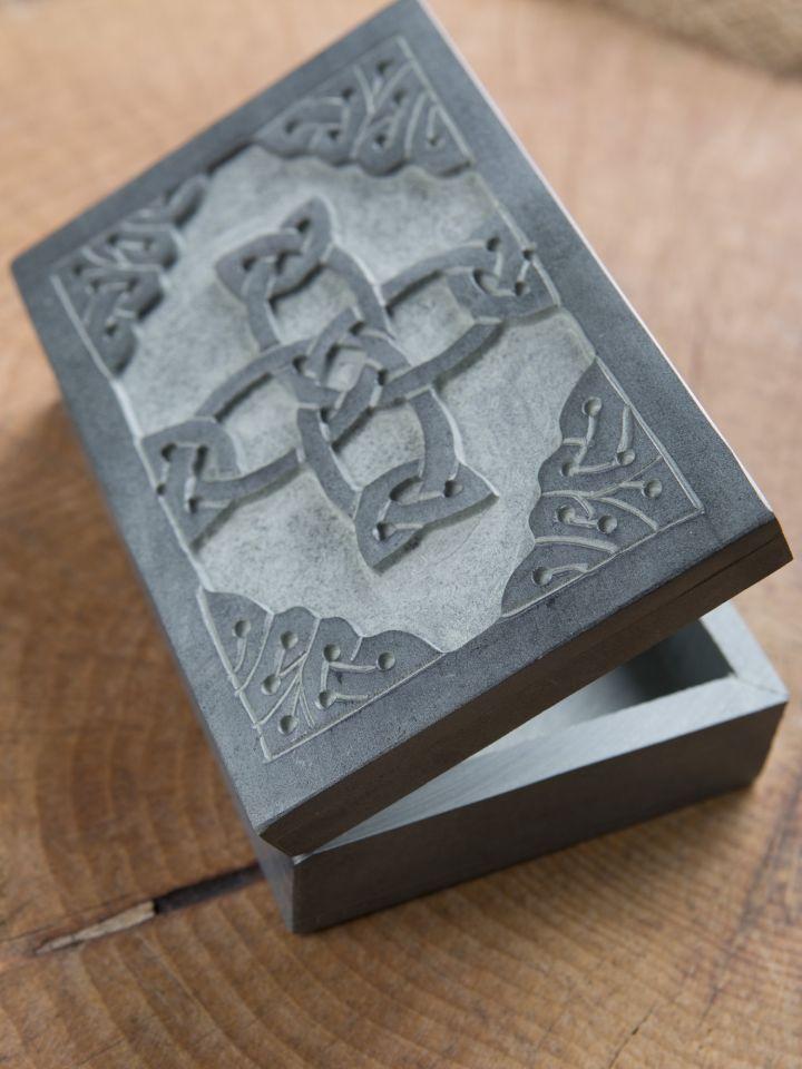 Steintruhe Keltisches Kreuz 3