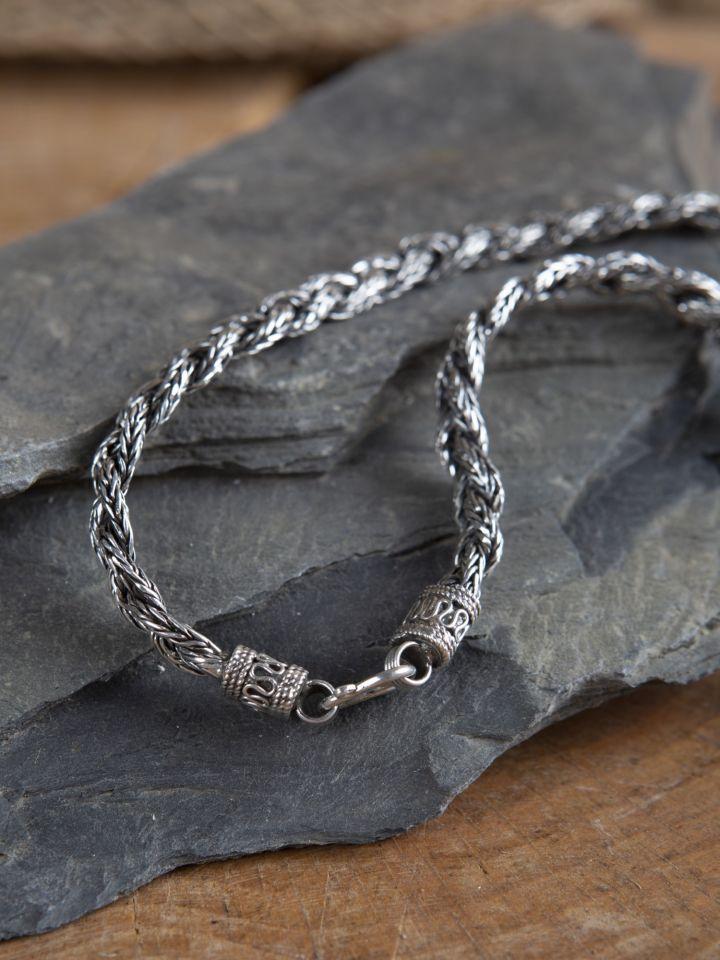 Schwere Wikinger-Halskette 50 cm 3