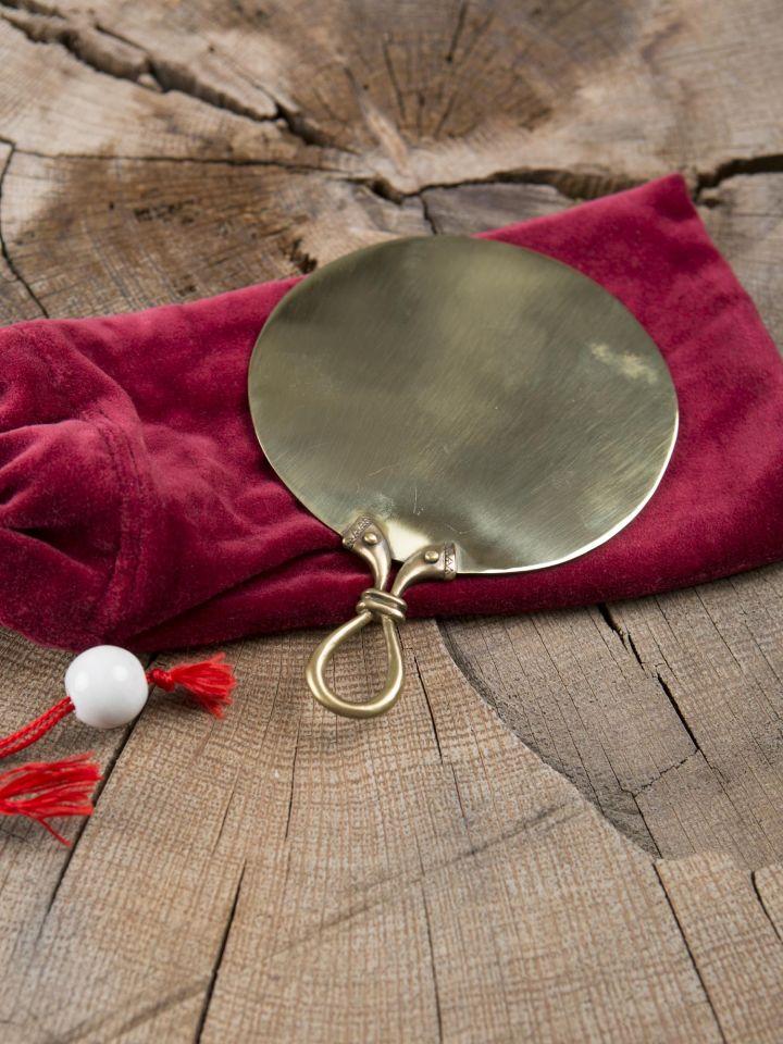 Keltischer Spiegel aus Messing klein 3