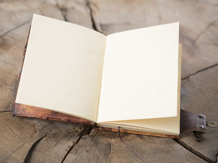 "Lederbuch ""Arbor"" groß 3"