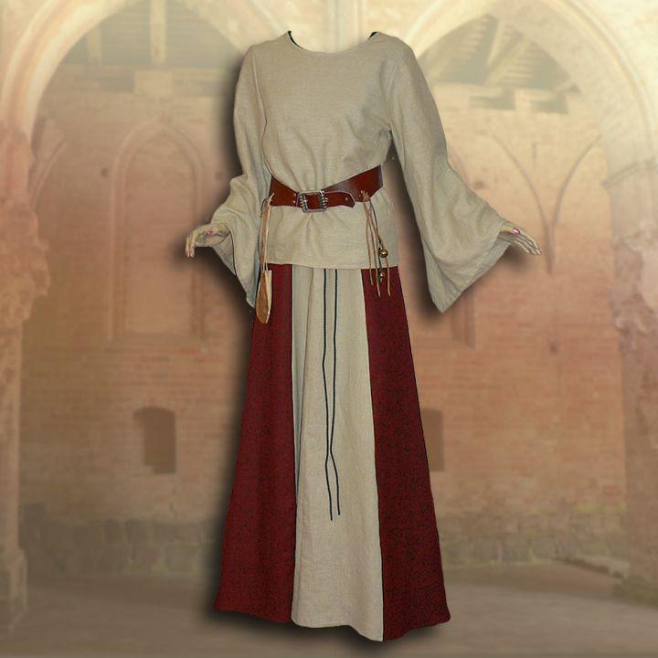2-teiliges Gewand Isabella rot 3