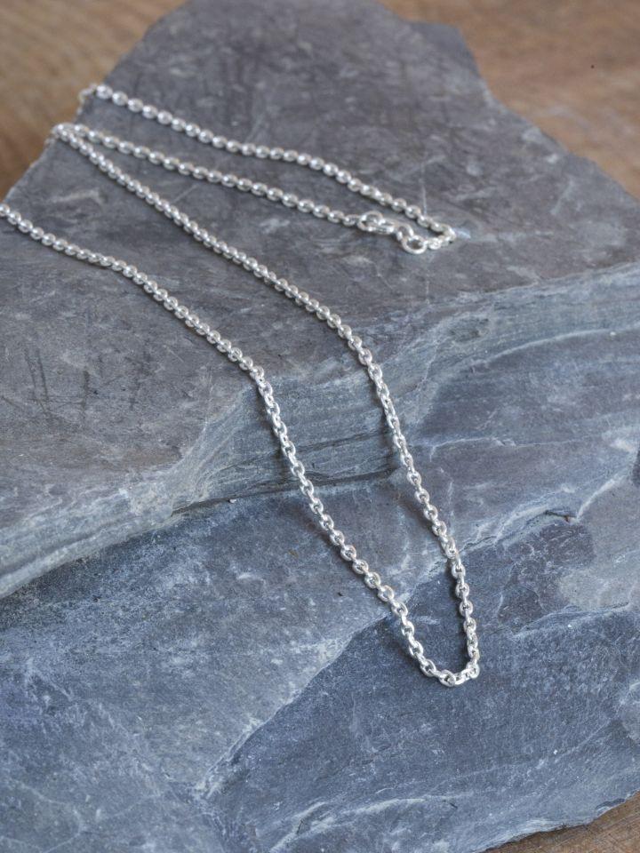 Zarte Silberkette 50 cm 3