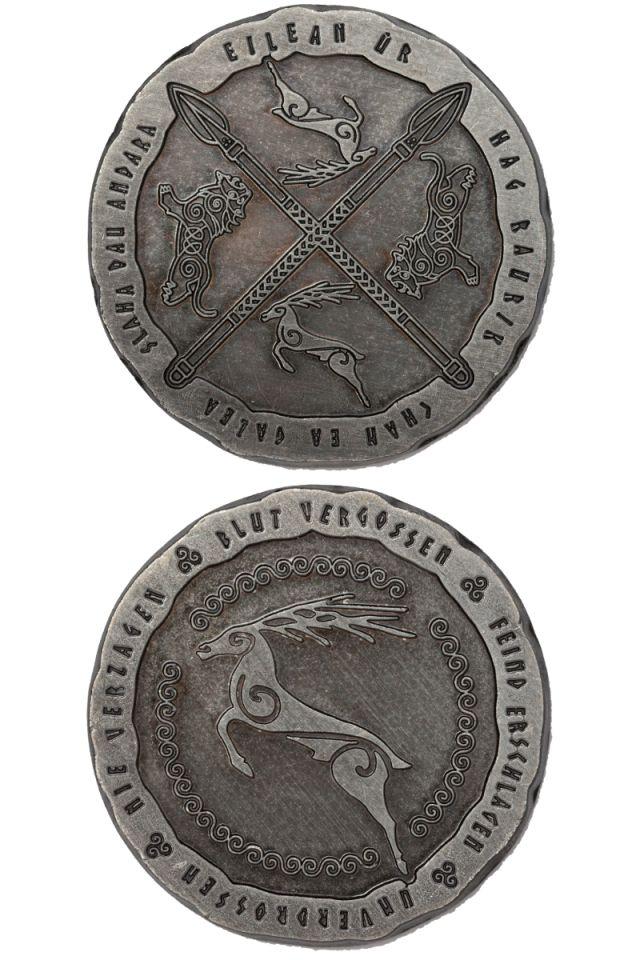 LARP-Münzen Kelten 3