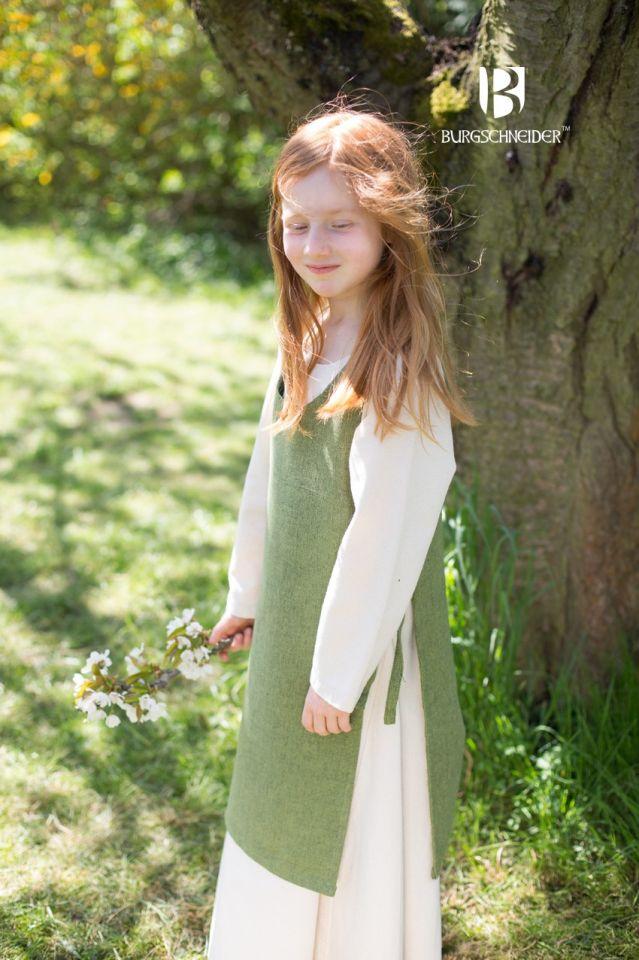 Kinderüberkleid Ylva lindgrün 3