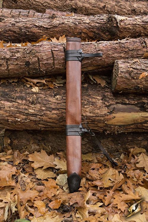Schwertscheide für Larpschwerter large | schwarz 3