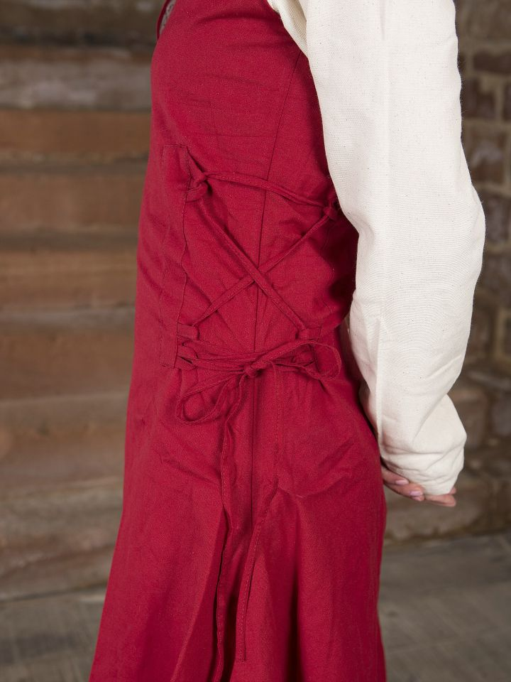 Überkleid Lannion rot 3