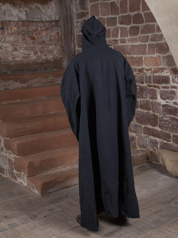 Magiermantel aus Baumwolle, schwarz 3
