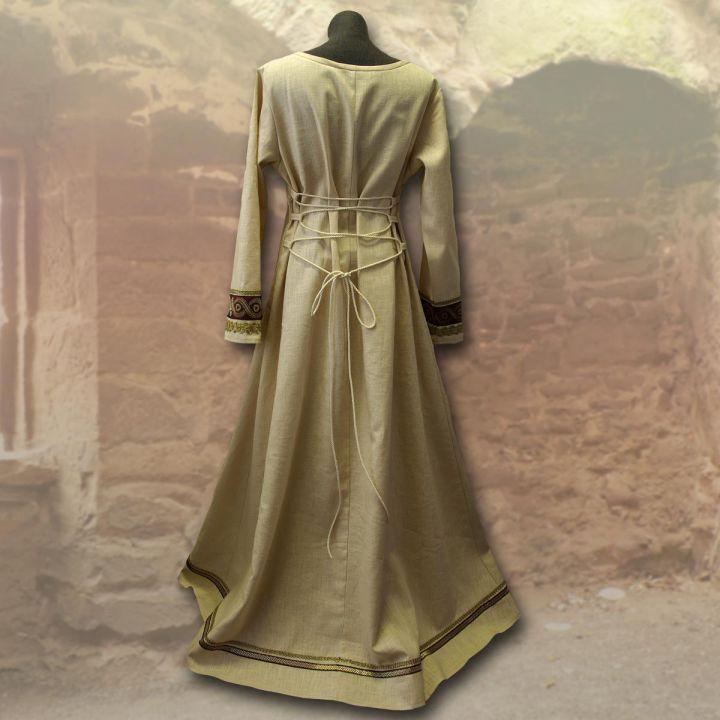 Wikingerkleid Runhild - waldgrün 3