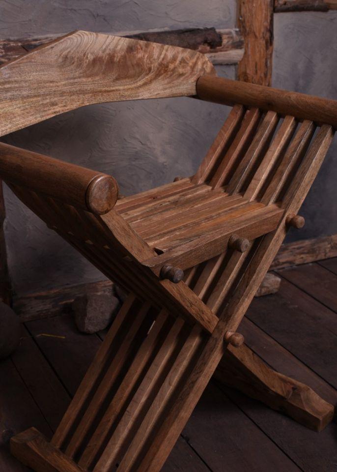 Mittelalterlicher Scherenstuhl 3