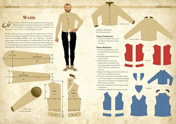 Kleidung des Mittelalters selbst anfertigen - Grundausstattung für den Mann 3