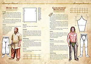 Kleidung des Mittelalters selbst anfertigen - Gewandungen der Wikinger 3