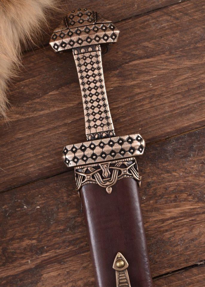 Wikingerschwert mit Bronzegriff 4
