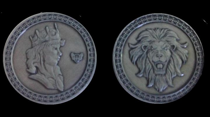 LARP-Münzen König 4