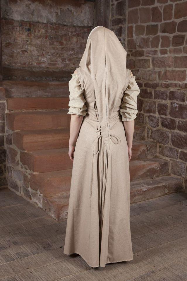 Mittelalterkleid Loris creme-weiß 36 4