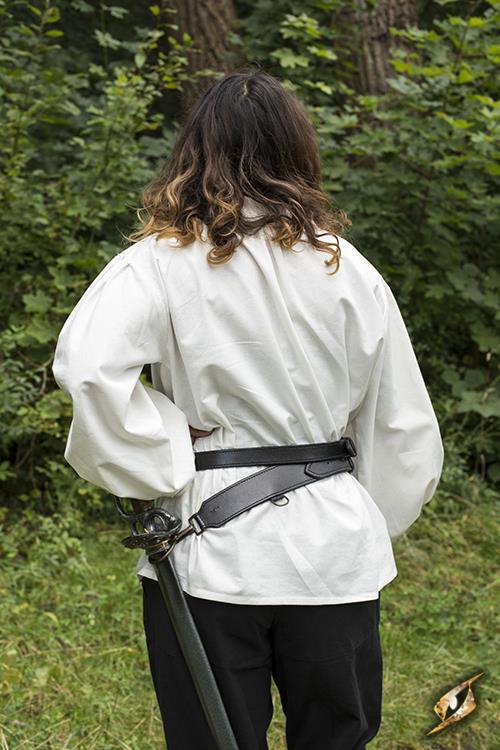 Schwertgürtel für LARP-Schwerter schwarz 4