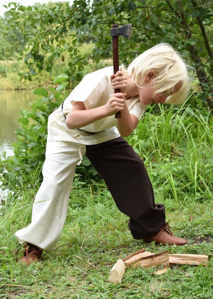 Kindertunika kurzarm natur 4