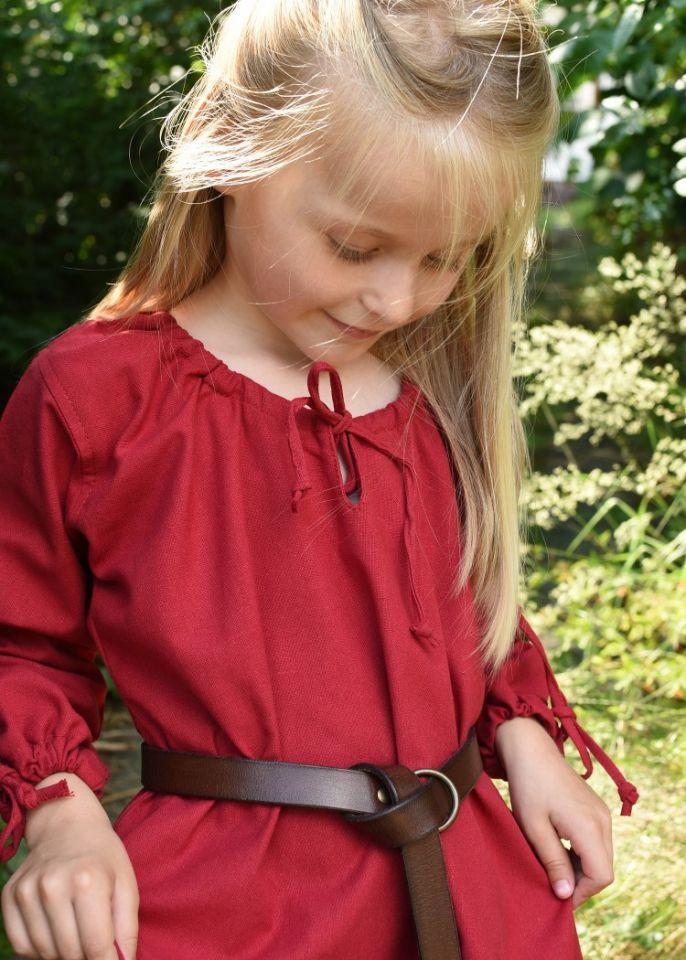 Kinder-Unterkleid Mara rot 4