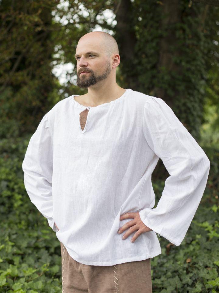 einfaches Leinenhemd 4
