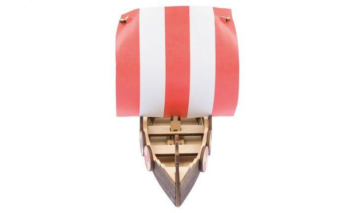 Wikingerschiff Bausatz 4