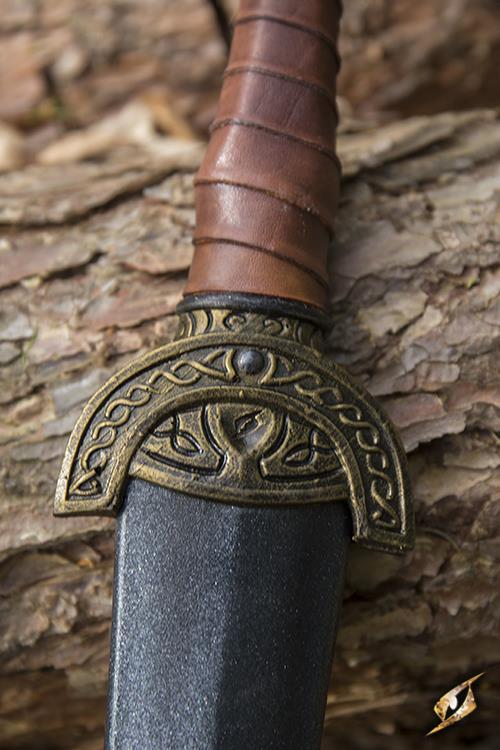Keltisches Blattschwert für LARP - 60 cm 4